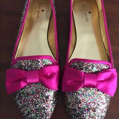 Kate Spade glitter loafers Not for sale Kate spade glitter loafers Shoes Flats & Loafers
