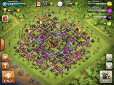 Clash of Clans Base Designs Town Hall Level 10