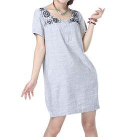 linen Knee length babydoll dress by MaLieb on Etsy, $86.00