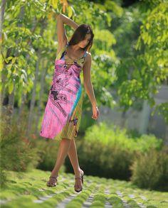 """Платье из шёлка """"Back to Africa"""" – купить в интернет-магазине на Ярмарке Мастеров с доставкой"""