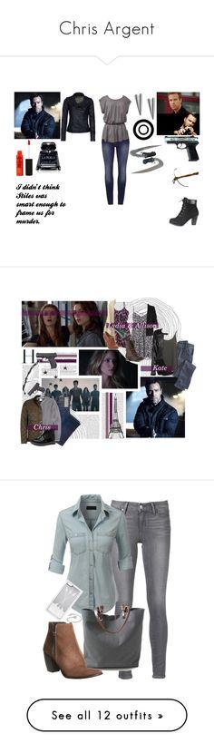 """Chris Argent"" by samtiritilli ❤ liked on Polyvore featuring Bourne, Desigual, Emilie Morris, La Perla, art, botc7, Paige Denim, LE3NO, Office and Independent Reign"
