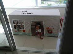 toalha  casinha  de bonecas