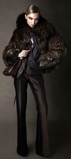 Tom Ford seriously to die for. Imagine how your skin and hair would look next to the wonderful chocolates and texture of fur