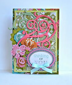 Crafty Creations with Shemaine: New from Anna Griffin: Floral and Flourish dies
