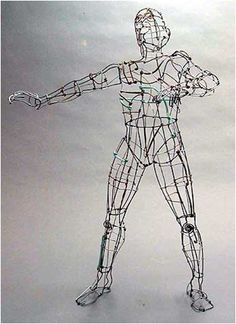 3-D Contour Wire Figure 3-D Wire Project Part 1 Problem: Create three free-standing wire studies that display gesture and move...