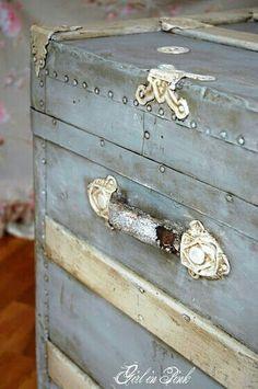 Storage Chest, Experiment, Vanilla, Decorative Boxes, Trunks, Dresser, Shabby Chic, Drift Wood, Lowboy