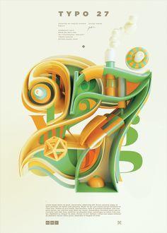 Typography 09. by Peter Tarka, via Behance