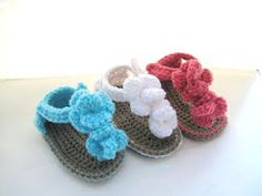 Crochet Dreamz: Sporty Sandals for Boys or Girls Crochet Baby Booties Pattern( pdf pattern for sale)