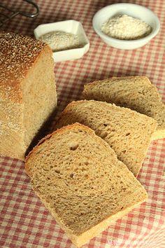 Pan de avena y amaranto Pan Bread, Bread Recipes, Muffin, Gluten Free, Vegan, Cookies, Healthy, Sweet, Food