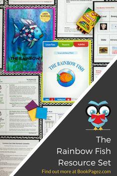 The Rainbow Fish Rainbow Fish Activities, Ocean Activities, Language Activities, Fun Activities For Kids, Classroom Activities, Preschool Activities, Preschool Books, Preschool Learning, Teaching
