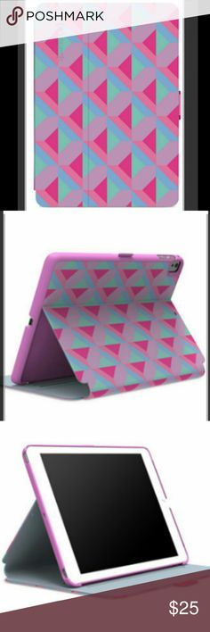 💥SPECK iPad Mini 4 Tablet Case💥 🔸SPECK lets you be just as captivated with the back of your iPad Mini as you are with the screening with this geometric pattern protective case.🔸 🆕Brand New.  NWOT 🍓Color: Geo strawberry/fuchsia Pink 🌟Easy cleaning with cleaning cloth  💕Compatible with iPad Mini 4 😘Reviews: Excellent quality, Easy to Clean & ALL recommended this product Speck Accessories Tablet Cases