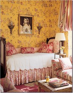 English, French traditional toile bedding and wall covering. custom bedding Designnashville.com message us for courteous assistance.