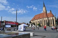 Ziua Europei celebrată la Cluj-Napoca Romania, Street View, Europe