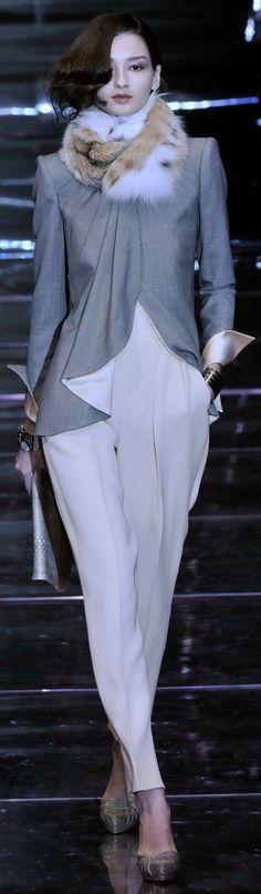 Armani Privé Haute Couture Fall Winter 2008/2009 collection