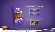 Milka convida você a oferecer último quadradinho de chocolate