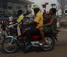 Benin, Africa 2011, december, traffic