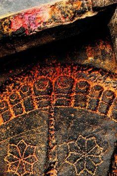 the feet of vishnu (kodachrome travels through india - karnataka - part four ~ by phish eyed lens)