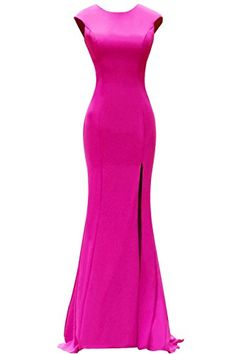 ORIENT BRIDE Cap Sleeve Split Side Evening Dresses Long Prom Party Gown 2015  Size 2 US 0b5c43bf5362