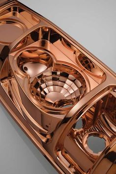 Mirrored Copper Plating