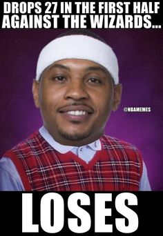 RT @NBAMemes: Melo be like.. @KnicksNationNet - http://nbafunnymeme.com/nba-funny-memes/rt-nbamemes-melo-be-like-knicksnationnet