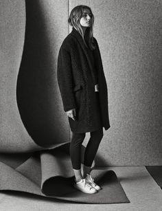 Andrea Diaconu for Isabel Marant Pre-Fall 2014