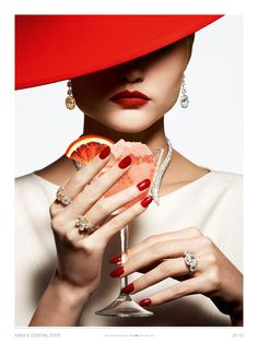 D'été Cocktail. For Vogue Paris June/July 2014. By Thomas Lagrange - ShazB