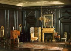 Mrs. James Ward Thorne  American, 1882-1966, E-4: English Drawing Room of the Late Jacobean Period, 1680-1702