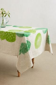 Pineapple Paradise Cove Tablecloth