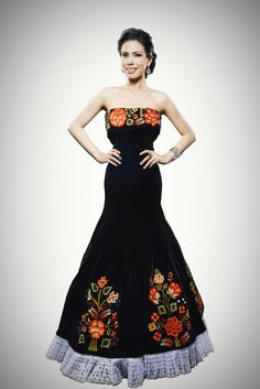 Mexican style formal dresses