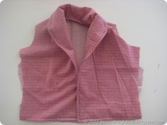 sew a straight line: Shawl Collar