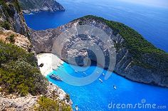 Navagio beach - Shipwreck Bay - Greece - Download From Over 26 Million High Quality Stock Photos, Images, Vectors. Sign up for FREE today. Image: 44685513