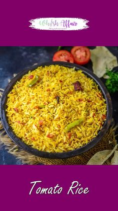 Spicy Recipes, Curry Recipes, Lunch Recipes Indian, Vegetable Biryani Recipe, Tomato Rice, Vegetarian Snacks, Chutney Recipes, Chaat Recipe, Food Videos