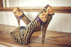 TIGER SHOES!!! A little extreme, but would still rock them :)