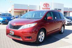 2014 Toyota Sienna LE Passenger Van #Toyota #Sienna #Van #ForSale #New | #Granbury #Weatherford #FortWorth #Cleburne #Abilene #JerryDurant