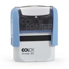 Colop Printer 20. Zelf-inktende kunststof stempel met ingebouwd stempelkussen.