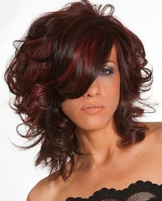wavy and curly medium length hairstyles, shoulder length hairstyles - curly hairstyle for medium hair