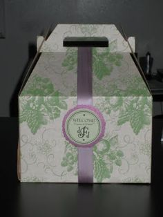 Gift boxes for the hotel rooms of guests