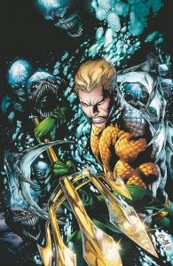 Aquaman, trying to shake off the stigma.