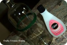 How to cut a bottle using nail polish remover & string!