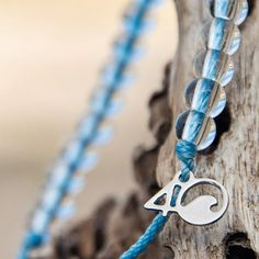 offers bracelets made from recycled materials. Every bracelet purchased funds the removal of one pound of trash from the ocean and coastlines. Funky Jewelry, Leather Jewelry, Metal Jewelry, Leather Bracelets, Leather Cuffs, Diy Jewelry, Jewelry Necklaces, Jewellery, Recycled Glass Bottles