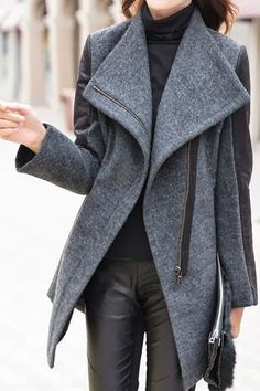 MODE THE WORLD: Plain and Cozy Trench Coat