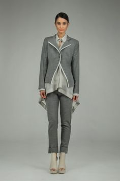 Taylor 'Incision' Collection, Summer 13/14 www.taylorboutique.co.nz - Sequence Jacket in Schist