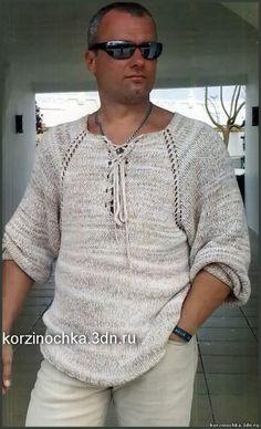 Мужской пуловер регланом, связаный спицами. Обсуждение на LiveInternet - Российский Сервис Онлайн-Дневников