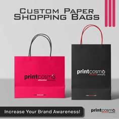 """""""Is your printing and packaging budget a burden on your finances❓ Printcosmo Provides the best wholesale rates for all Custom Designed printing and packaging. We will help you sustain your marketing targets with affordable, creative, and high-quality printing and packaging Designs. ✨Rethink your custom packaging and Get Better Sales. 🌍 Click now and get your Custom Quote. Custom Packaging Boxes, Box Packaging, Packaging Design, Printing Companies, Quality Printing, Shopping Bag, Budgeting, Custom Design, Marketing"""
