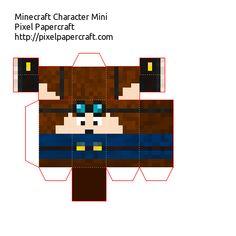 Papercraft DanTDM Mini
