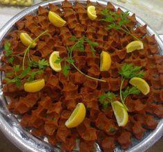 çiğ köfte turkish food - kelimeler kifayetsiz kalır ..