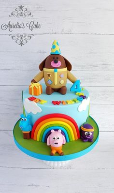 by Aurelia's Cake 1st Birthday Cake For Girls, 1st Birthday Cakes, Birthday Ideas, Baby First Cake, Chocolate Birthday Cake Decoration, Character Cakes, Novelty Cakes, Celebration Cakes, Party Cakes