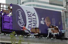 Cadbury Chocolate: Installation