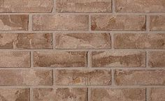 Brampton Brick's Tumbled Series clay bricks offer a unique appearance that mirrors the look of tumbled brick at a fraction of the cost Brick And Stone, Natural Stones, Tile Floor, Hardwood Floors, Clay, Bricks, Exterior, Wood Floor Tiles