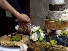 @Abigail Noonan @Michael Briggs I kind of love the idea of a wedding cake made of cheese.